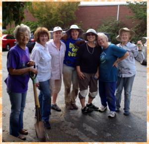 Diggin' Dirt Volunteers