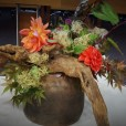 Ikebana arrangement