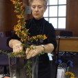 Suzanne Dillingham - Ikebana demonstration