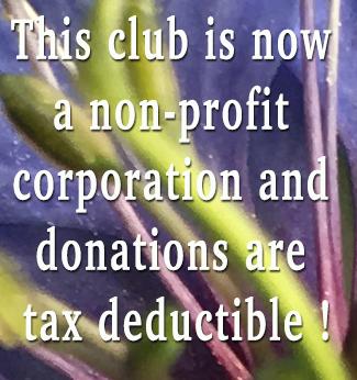 We are a non-profit 501 3C corporation!!